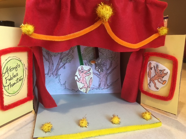 Take & Make 3D Mini Puppet Theatre